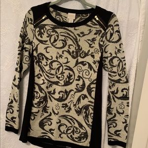 Chico's collection women's sweater, Size 0
